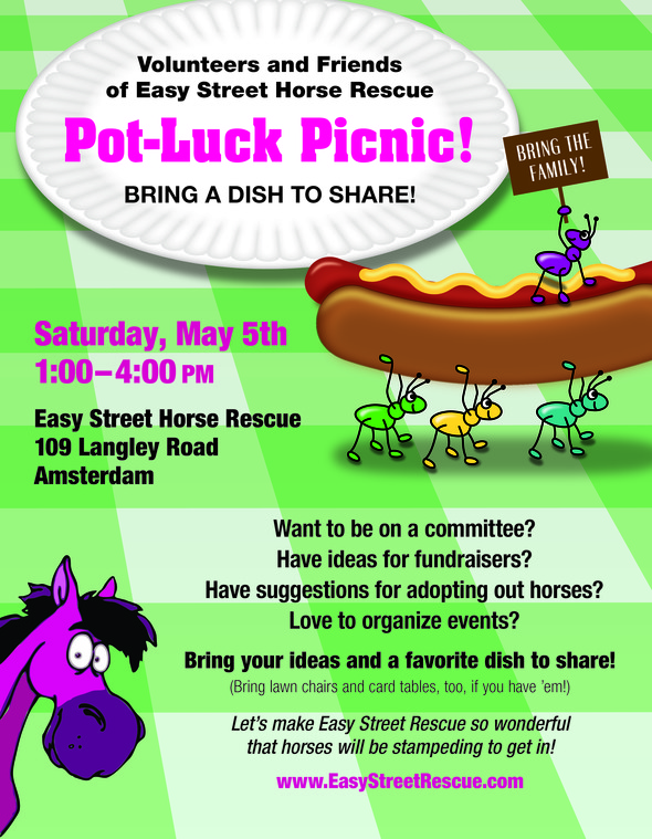 Family Picnic Flyer Templates